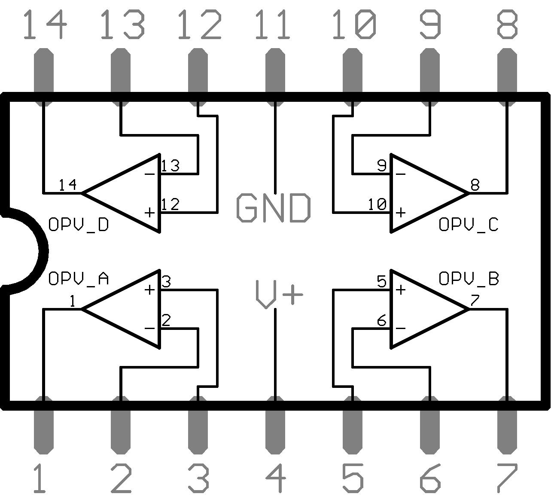 amplificateur op u00e9rationnel lm324n