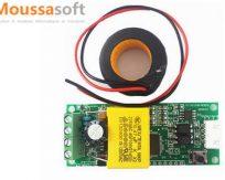 PZEM-004T mesure Puissances, Voltage, Courant maroc