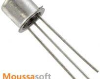 BC109  Transistor NPN, 25 V, 150 MHz maroc