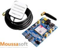 SIM808 Module GSM GPRS GPS 2G 3G 4G compatible Arduino maroc: casablanca, rabat, tanger, fes, Meknès, Agadir, Marrakech ...