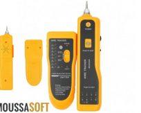 vente Testeur et detecteur de cable reseau telephonique RG11 et reseau Ethernet LAn RG45 Maroc casablanca