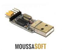 Vente Convertisseur USB RS232 TTL CH340G maroc